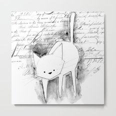 minima - deco cat Metal Print
