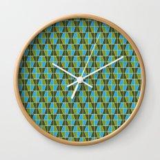 Tile Pattern 1 Wall Clock
