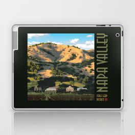 Napa Valley - Regusi Vineyards  II Laptop & iPad Skin