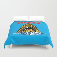 steve zissou Duvet Covers featuring Zissou by Buby87