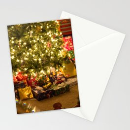 Gifts Under the Christmas Tree Stationery Cards