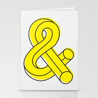 ampersand Stationery Cards featuring Ampersand by MADEYOUL__K