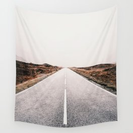 ROAD - HIGH WAY - LANDSCAPE - PHOTOGRAPHY - NATURE - ADVENTURE - SKY Wall Tapestry