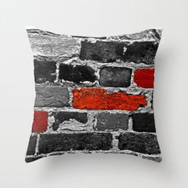 OTHER BRICKS IN THE WALL Throw Pillow