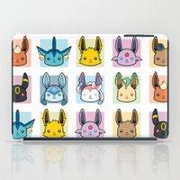 sylveon iPad Cases featuring Eeveelutions by BunnyBrush
