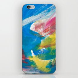 Abstract Artwork Colourful #4 iPhone Skin