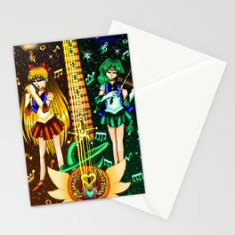 Fusion Sailor Moon Guitar #22 - Sailor Venus & Sailor Neptune Stationery Cards