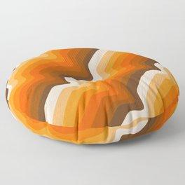 Golden Wave Floor Pillow