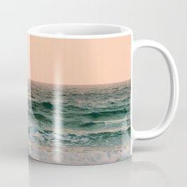 Pink Skies Ocean Vibes Coffee Mug