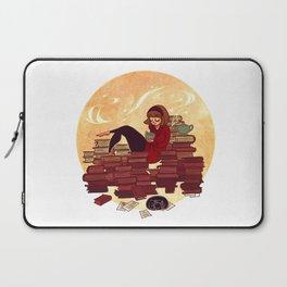 Book Lover Girl Laptop Sleeve