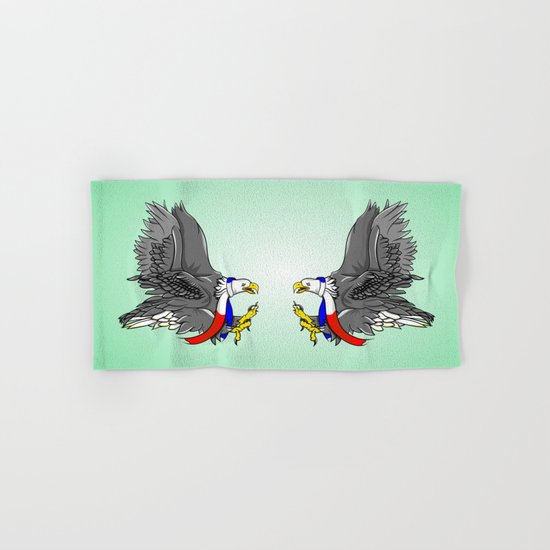Bald Eagle Hand & Bath Towel