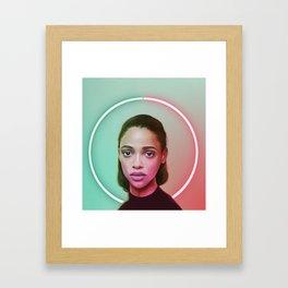 Full Circle Framed Art Print