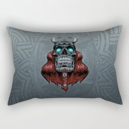 Valhalla Awaits Rectangular Pillow