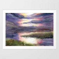 Intense Sky Art Print