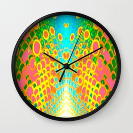 Engage Plasma Beam Wall Clock
