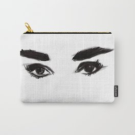 Audrey's eyes Carry-All Pouch
