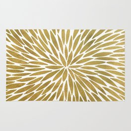 Golden Burst Rug