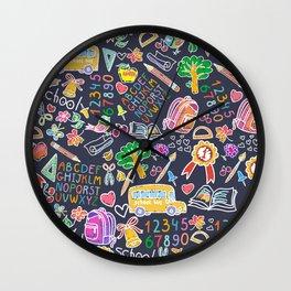 School teacher #9 Wall Clock