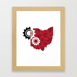 Industrial Ohio Framed Art Print