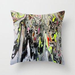 Toxic 4 Throw Pillow
