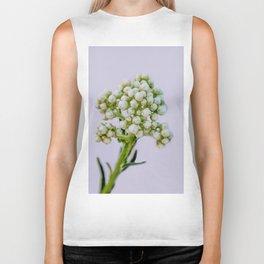 little white flowers Biker Tank