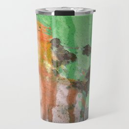 Deere in Rain Travel Mug