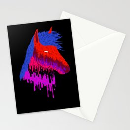 The Psychedelic Melt Stationery Cards