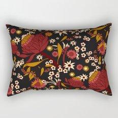 Australian Natives Red Blossom Rectangular Pillow