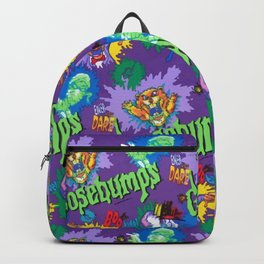 Goosebumps 90's Pattern Backpack