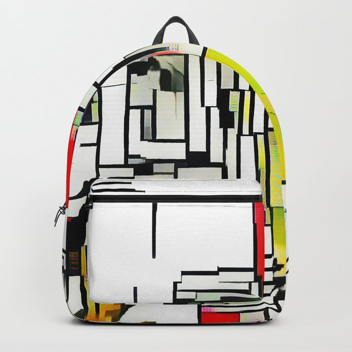 City in the summer Backpack