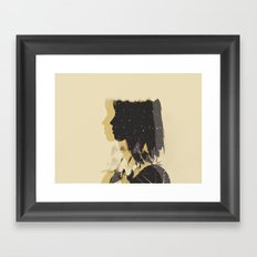 Moving Backwards Framed Art Print