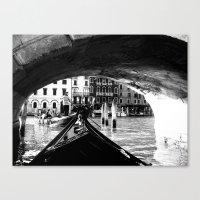 venice Canvas Prints featuring venice by gzm_guvenc