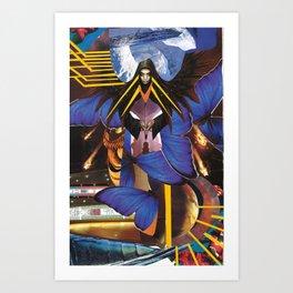 BVB - Butterfly Wings Art Print