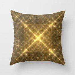 The Peaceful Pyramid Throw Pillow