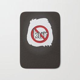 Dun Kur Bear [Don't Care Bear Black/Panda] Bath Mat