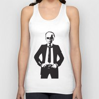 karl lagerfeld Tank Tops featuring Karl Lagerfeld by Joanna Theresa Heart