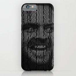 Jack Torrance and the shinning dull boy iPhone Case