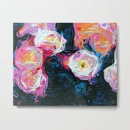 Flowerella Metal Print