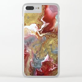 Beating heart Clear iPhone Case