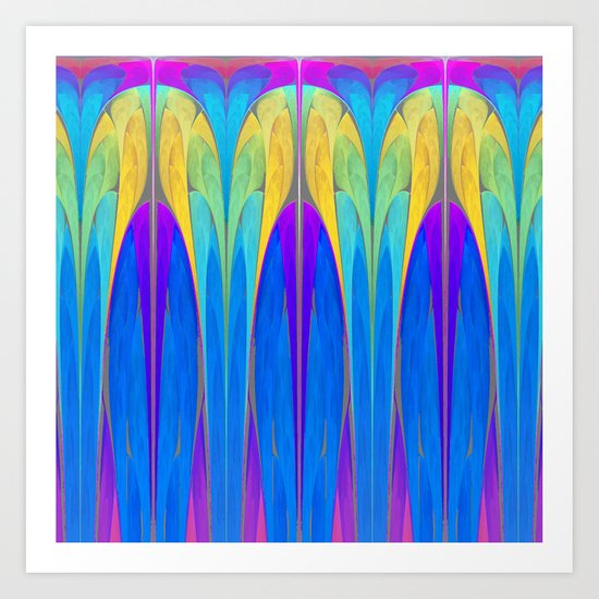 Art Deco III (Variation I) Art Print