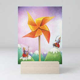 The whirligig Mini Art Print