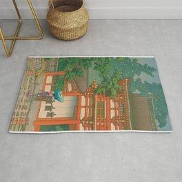 Kawase Yusui made Nara Kasuga Taisha Rug