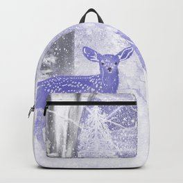 Winter Fawns Backpack