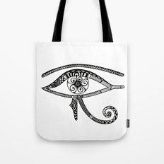 Eye of Horus Tangled Tote Bag