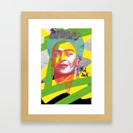 La Frida de Khalo Framed Art Print