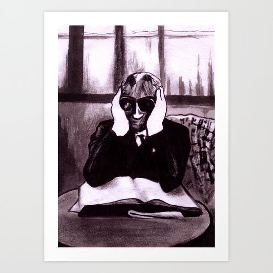 The Invisible Man Art Print