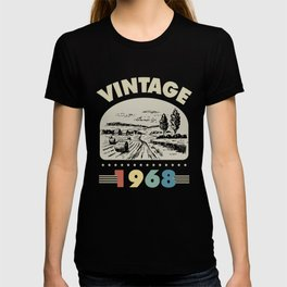Birthday Gift Vintage 1968 Classic T-shirt