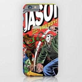 The Invincible Jason vs Freddy iPhone Case