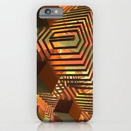 Broken Shapes iPhone Case