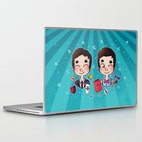 wes anderson Laptop & iPad Skins featuring 5 years of Blaine Anderson by Sunshunes